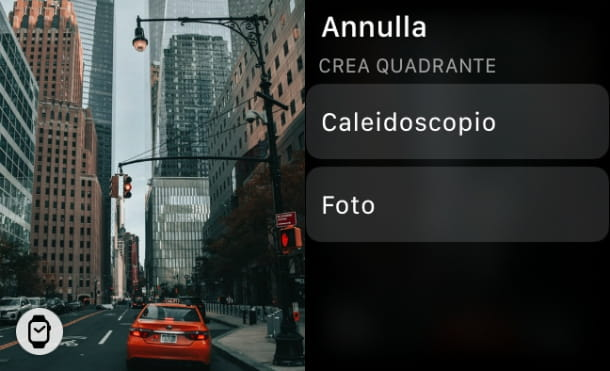 Crea quadrante Foto Apple Watch