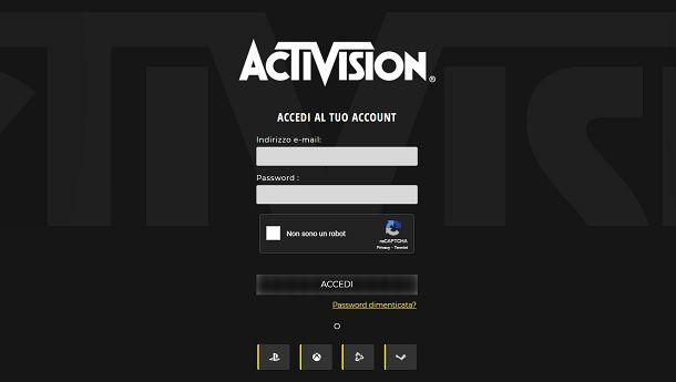 Login Account Activision
