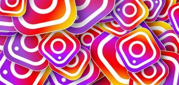 Tanti loghi Instagram
