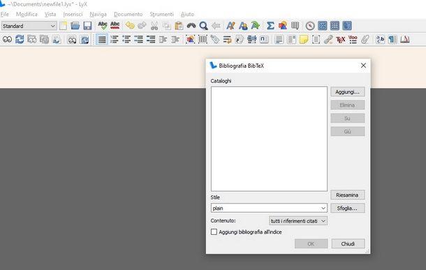 Altri programmi per scrivere in LaTeX