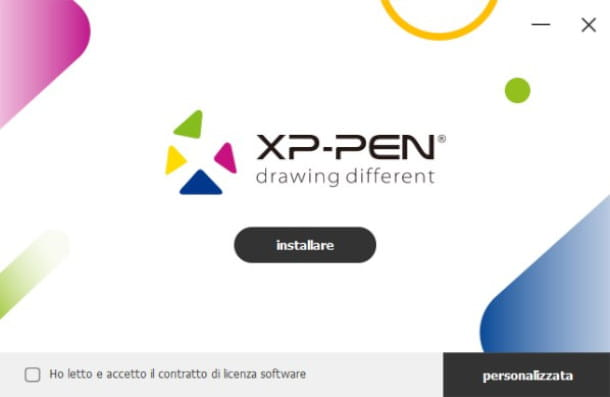 Installazione Driver XP-Pen