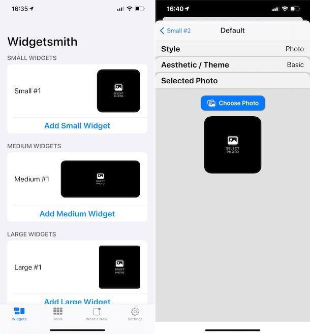 Widgetsnith