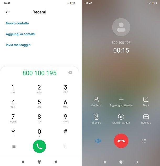 Chiamare servizio clienti Vodafone da altro operatore