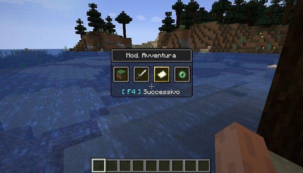 Modalità Avventura Minecraft