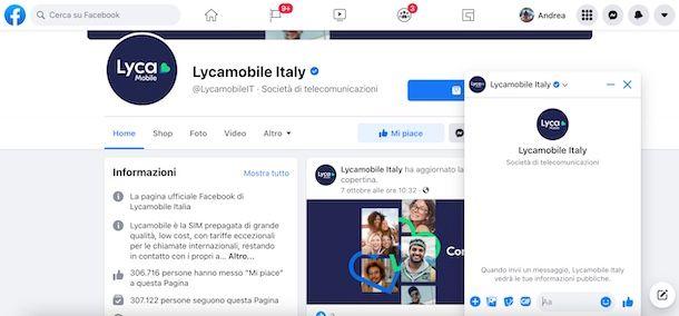 Facebook Lycamobile