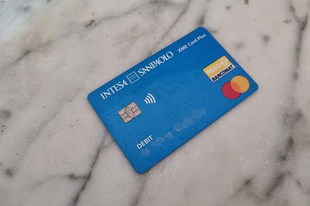 XME Card Plus Intesa Sanpaolo cos'é