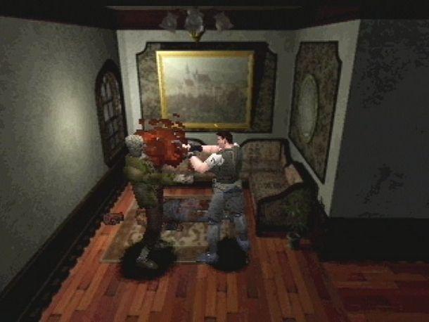 Resident Evil è il grande classico horror PlayStation