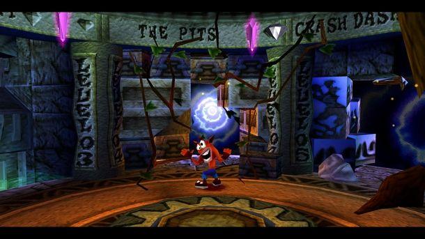 Il platform di riferimento PlayStation è Crash Bandicoot