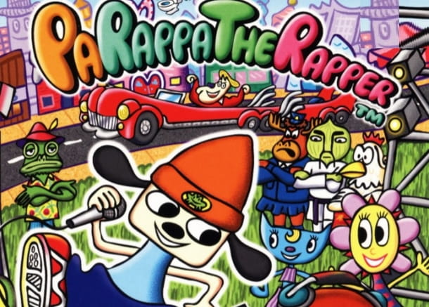 Il mitico PaRappa The Rapper è un emblema PlayStation