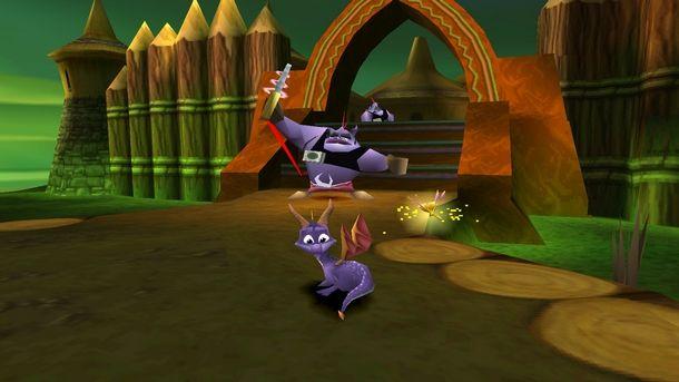La leggenda di Spyro The Dragon ha debuttato su PlayStation