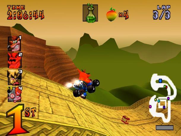 Il grande Crash ha segnato l'era PlayStation con un ottimo gioco di kart