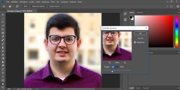 Come rendere sfocata una foto con Photoshop