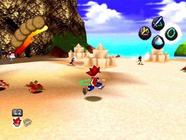 Ape Escape è stato il primo platform PlayStation incentrato sull'uso degli analogici