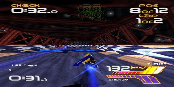 Le migliori gare di Wipeout XL sono su PlayStation