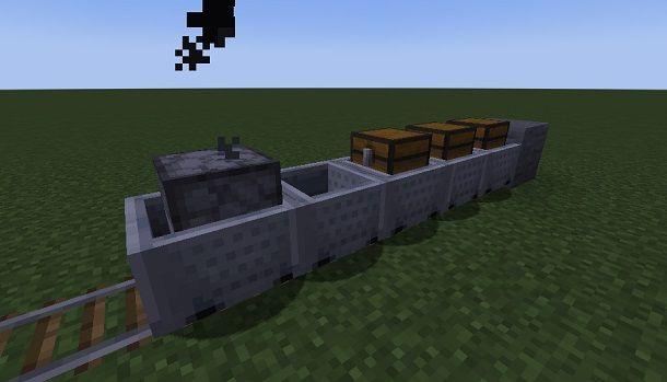 Come fare un treno su Minecraft