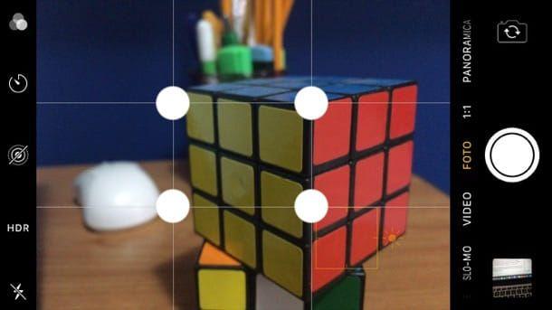 Come rendere una foto sfocata su iPhone