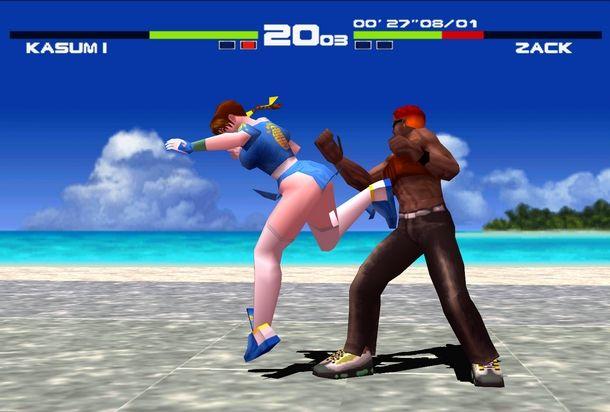 Le bellezze di Dead or Alive hanno lasciato il segno su PlayStation