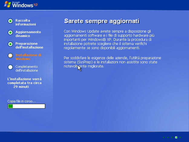 Come ripristinare Windows XP