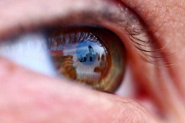 Eye Reflection Photoshop Come guardare film | S...