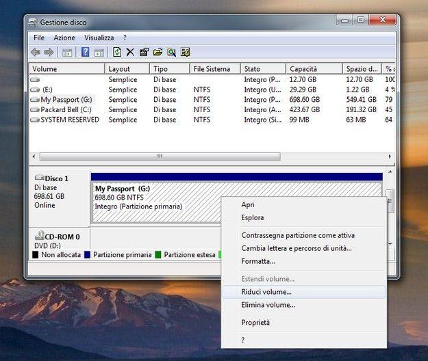 Partizionare hard disk esterno mac senza perdere dating
