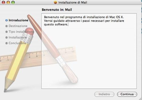 Installare programmi in Mac OS X