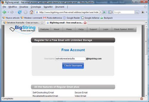 Email autodistruggono