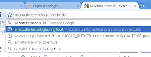 Navigazione Google Chrome