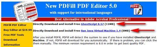 Java e Ghost Script
