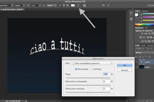 Photoshop tutorial italiano - Testo oro 3D in prospettiva ...