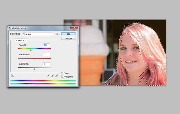 Hai scoperto come cambiare colore dei capelli con Photoshop e il lavoro è  quasi ultimato d34d9c363b27