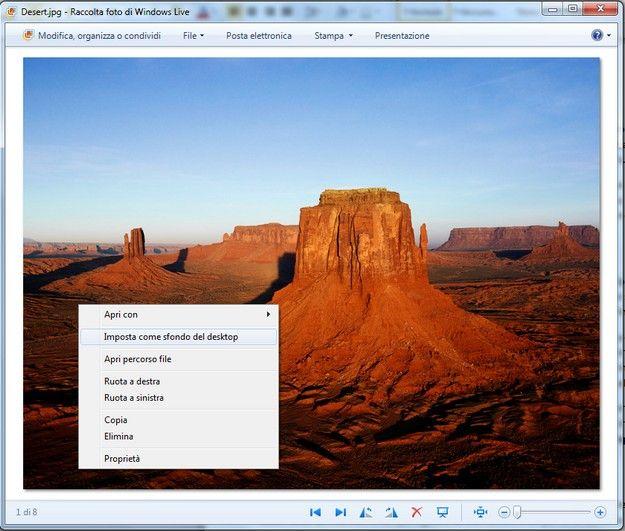 Come mettere un'immagine sul desktop | Salvatore Aranzulla