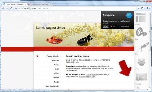 Realizzazione siti web gratis for Sito web piano gratuito