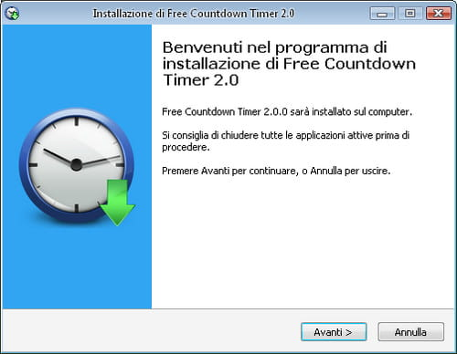 Famoso Programma conto alla rovescia per il Desktop | Salvatore Aranzulla JE86
