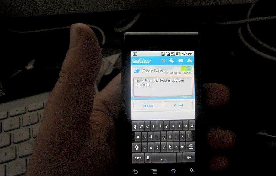 Come cancellarsi da Twitter da tablet Android