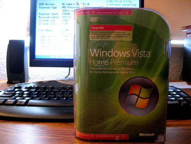 Windows Vista CD/DVD