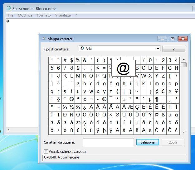 Come fare la chiocciola sulla tastiera di un computer o di ...
