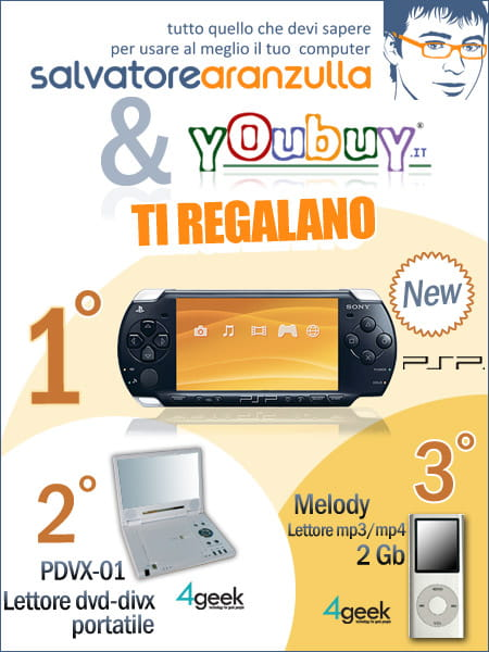 Contest di Salvatore Aranzulla e Youbuy.it