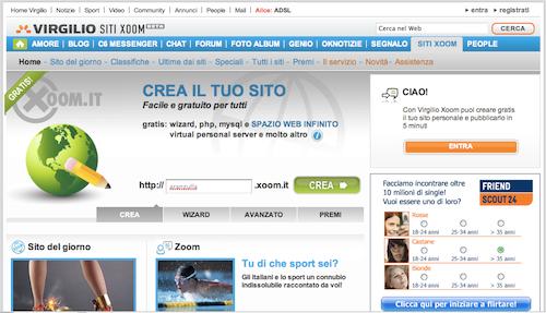 Gsnrg blog for Sito web piano gratuito