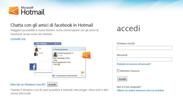 posta elettronica hotmail