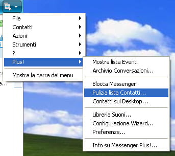 Pulizia della lista contatti Messenger