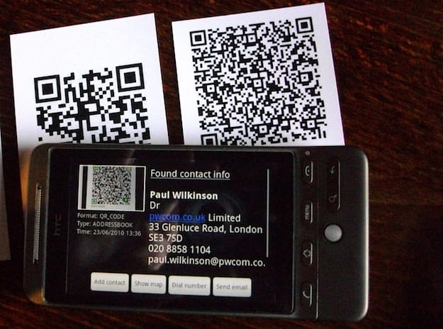 how to scan qr code on android