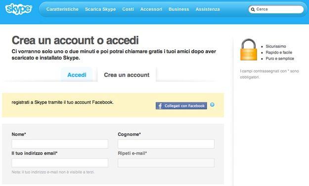 scaricare gratis skype lovvo app
