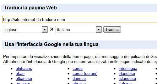 Traduzione frasi da inglese a italiano online for Traduzione da inglese a italiano