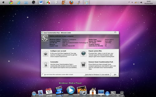 win7mac3 Come trasformare Windows 7 in Mac