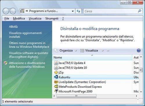 wubi05 Come installare Ubuntu